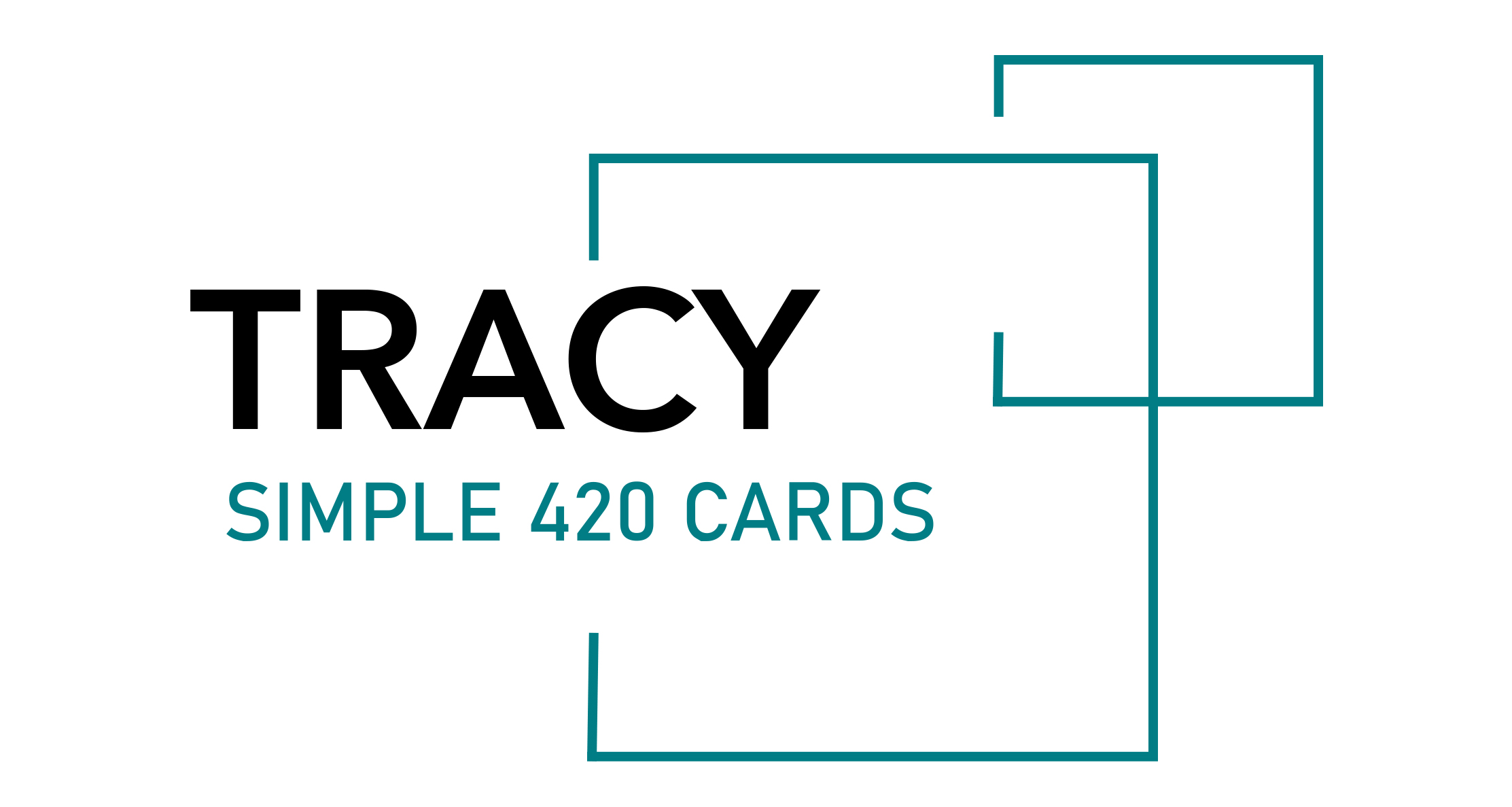 Tracy Simple 420 Cards